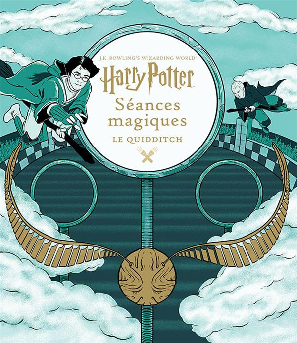 J.K. ROWLING'S WIZARDING WORLD : SEANCES MAGIQUES COLLECTIFS JEUNESSE GALLIMARD